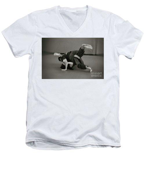 Jiu Jitsu Men's V-Neck T-Shirt