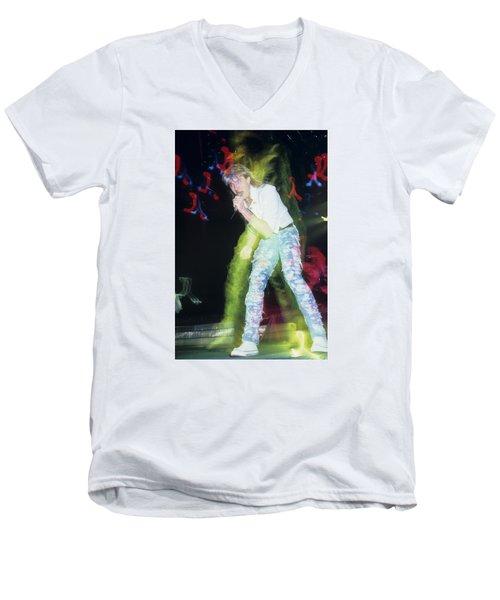 Joe Elliott Of Def Leppard Men's V-Neck T-Shirt