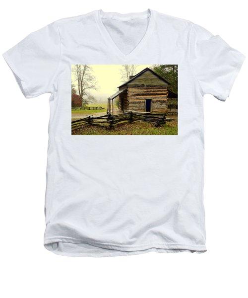 John Olivers Cabin Men's V-Neck T-Shirt
