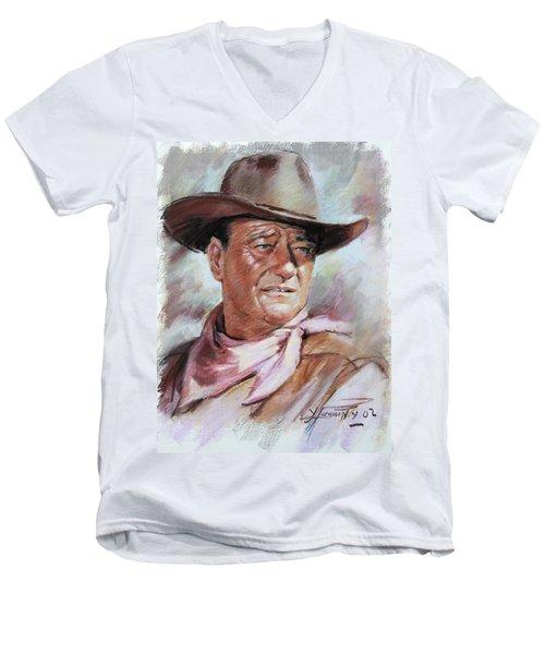 John Wayn Men's V-Neck T-Shirt