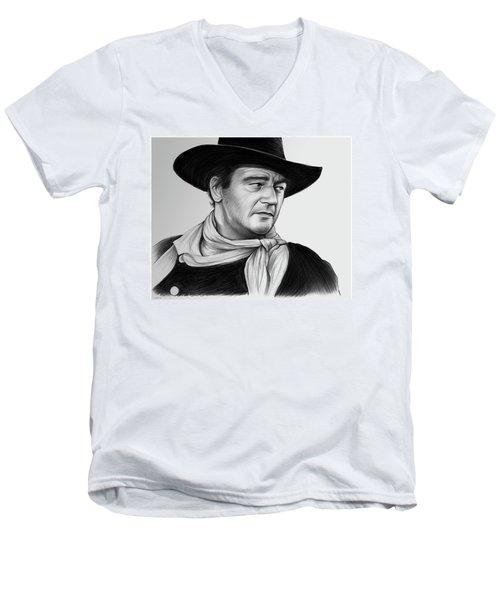 John Wayne 29jul17 Men's V-Neck T-Shirt