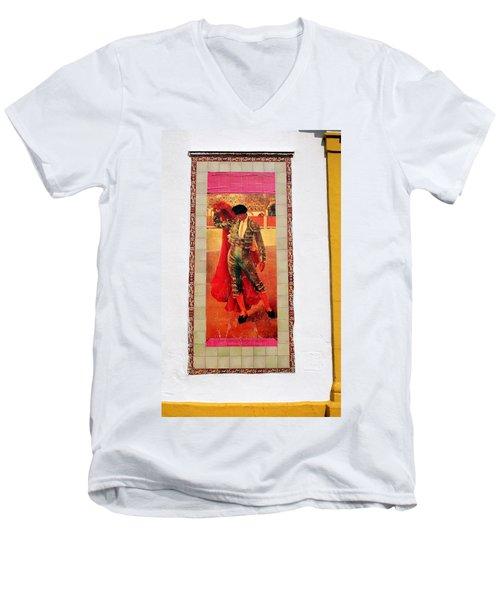 Jose Gomez Ortega Men's V-Neck T-Shirt