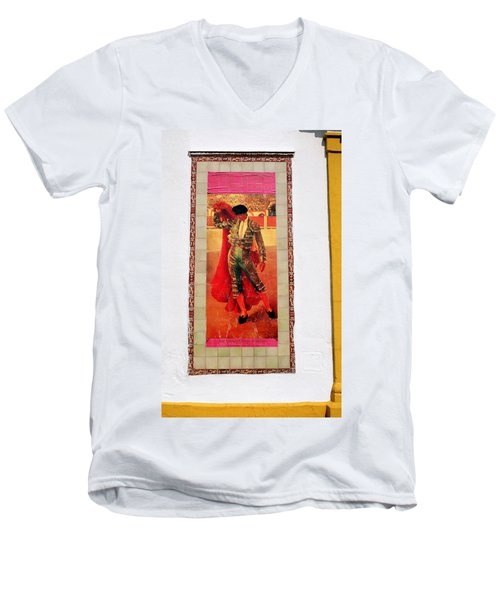 Jose Gomez Ortega Men's V-Neck T-Shirt