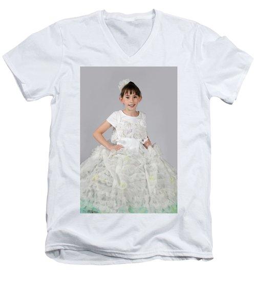 Josette In Dryer Sheet Dress Men's V-Neck T-Shirt