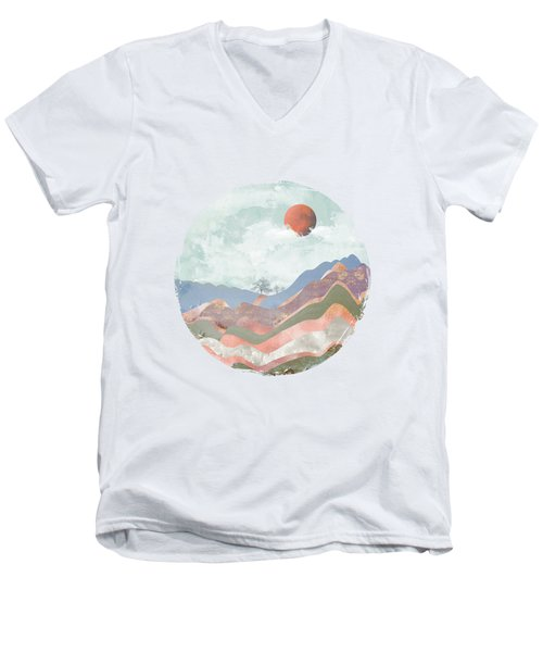 Journey To The Clouds Men's V-Neck T-Shirt by Katherine Smit