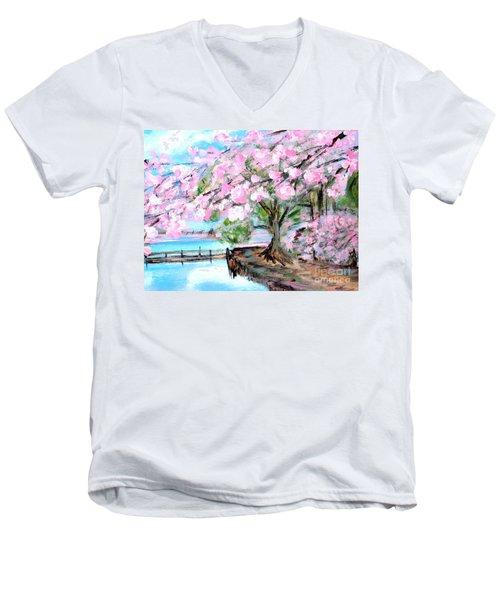 Joy Of Spring. For Sale Art Prints And Cards Men's V-Neck T-Shirt