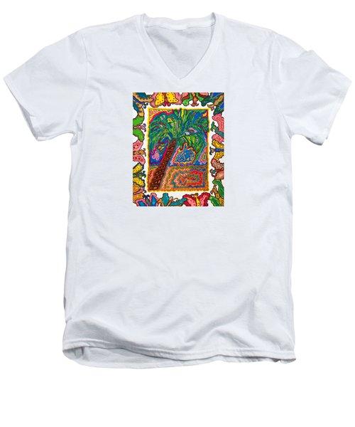 Joyful Flight - II Men's V-Neck T-Shirt