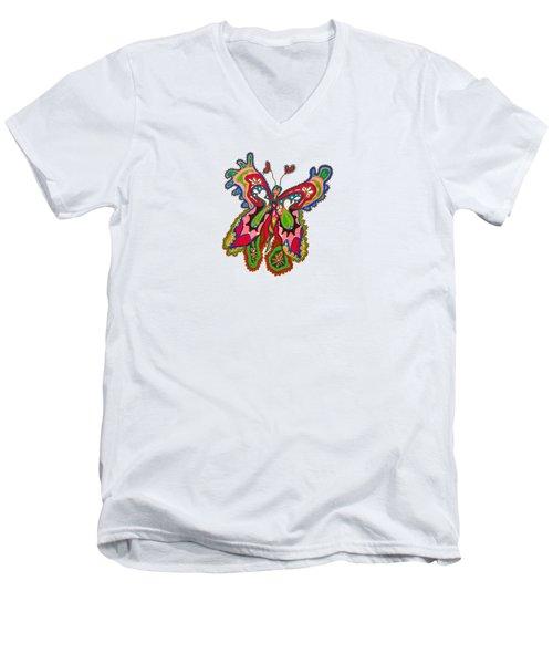 Joyful Flight - Iv Men's V-Neck T-Shirt