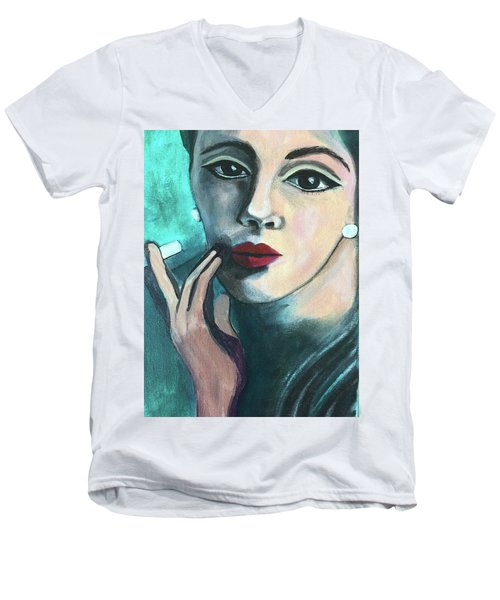 Silently Judging You Men's V-Neck T-Shirt
