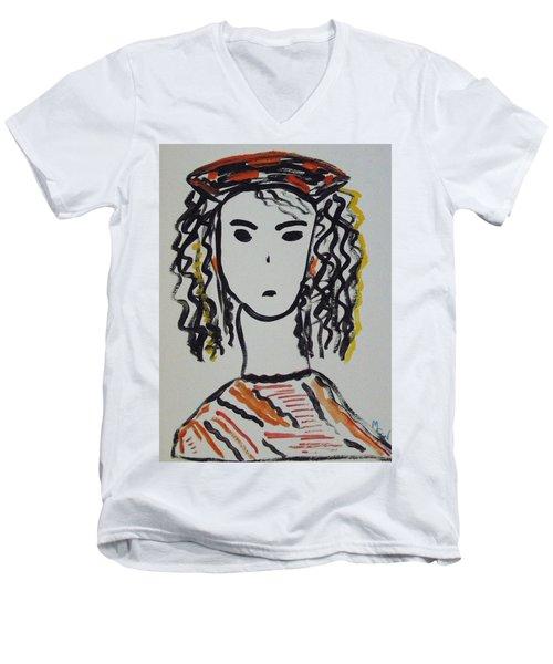 Julie Mel Men's V-Neck T-Shirt
