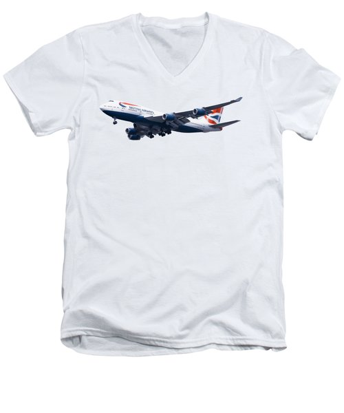 Jumbo Jet Men's V-Neck T-Shirt