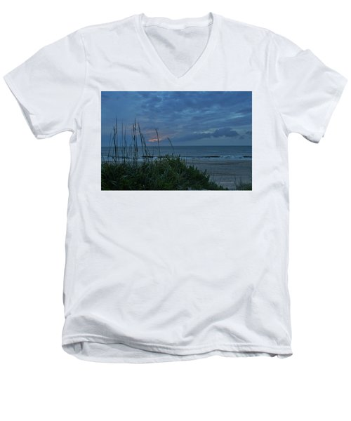 June 20, 2017  Men's V-Neck T-Shirt