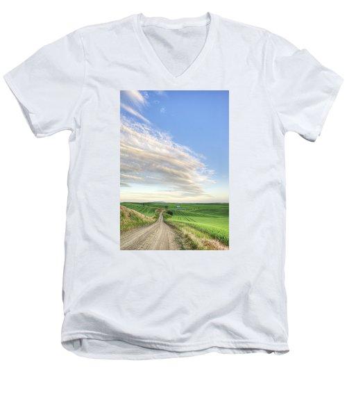 June Afternoon Men's V-Neck T-Shirt