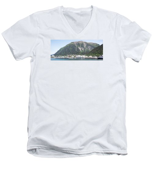 Juneau Panorama Men's V-Neck T-Shirt