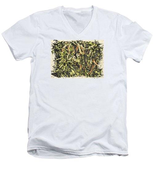 Jungle George Men's V-Neck T-Shirt