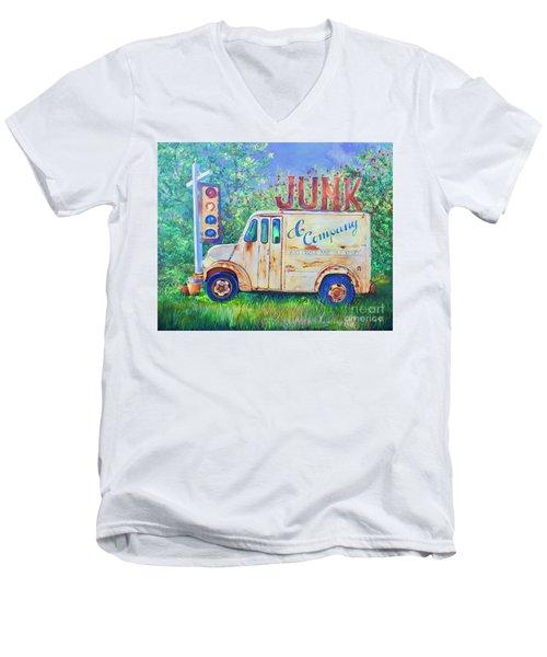 Junk Truck Men's V-Neck T-Shirt