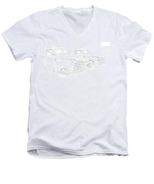 Junkyard Finds Men's V-Neck T-Shirt
