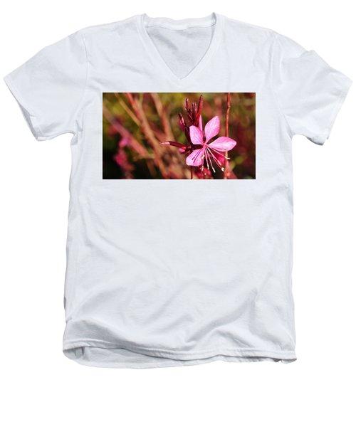 Just In Pink Men's V-Neck T-Shirt