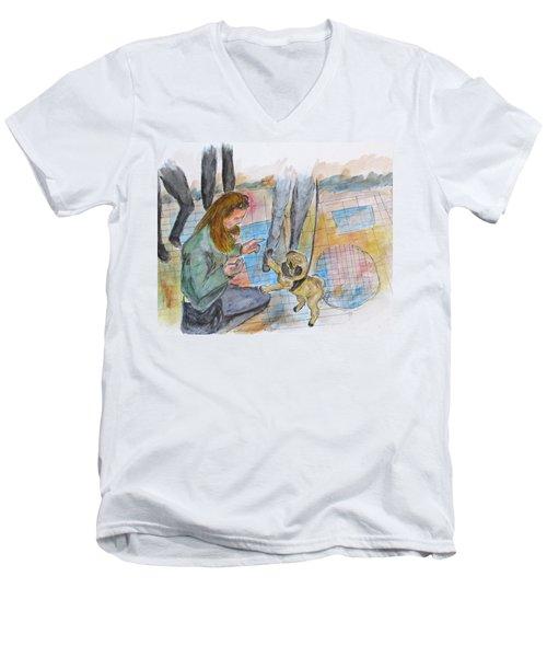 Just One More Men's V-Neck T-Shirt
