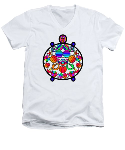 Kachua Men's V-Neck T-Shirt