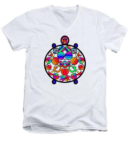 Kachua Men's V-Neck T-Shirt