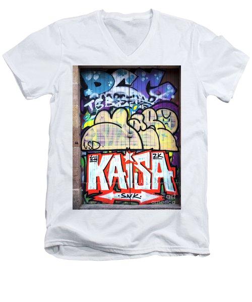 Kaisa In Barcelona Men's V-Neck T-Shirt