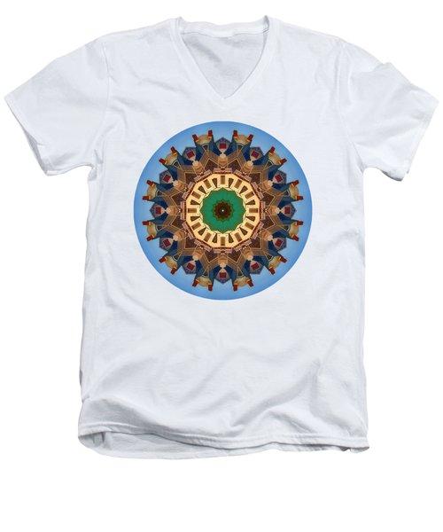 Kaleidos - Nantucket01 Men's V-Neck T-Shirt by Jack Torcello