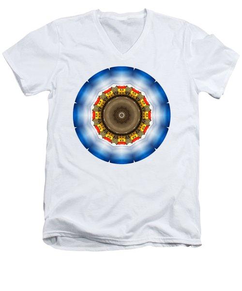 Kaleidos - Reykjavik01 Men's V-Neck T-Shirt