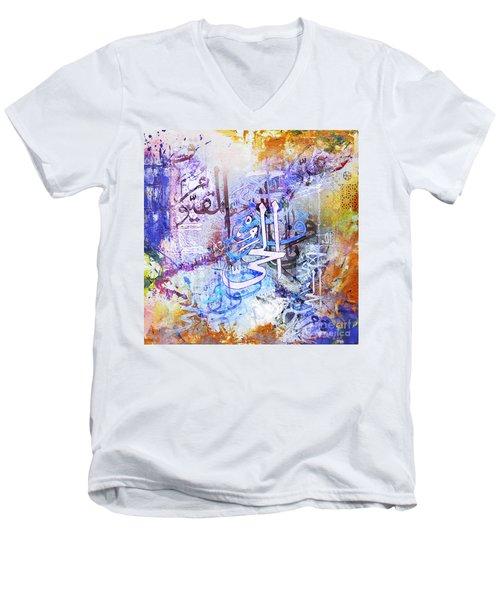 Katba A  Men's V-Neck T-Shirt by Gull G