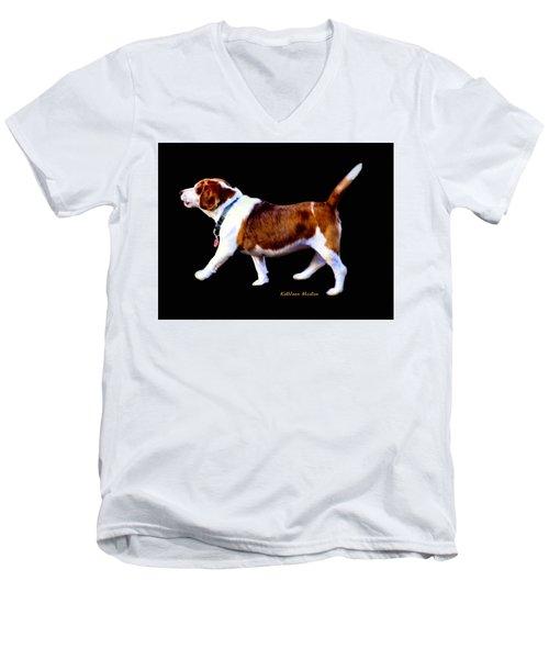 Kc In Motion Men's V-Neck T-Shirt