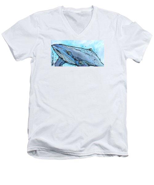 Keep Swimming Men's V-Neck T-Shirt