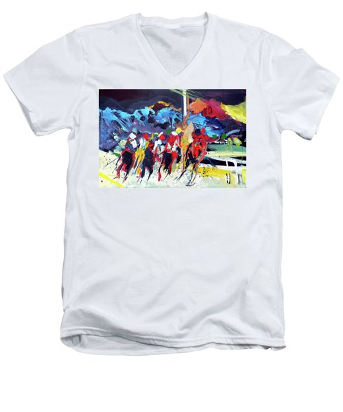 Kentucky Derby Day Men's V-Neck T-Shirt