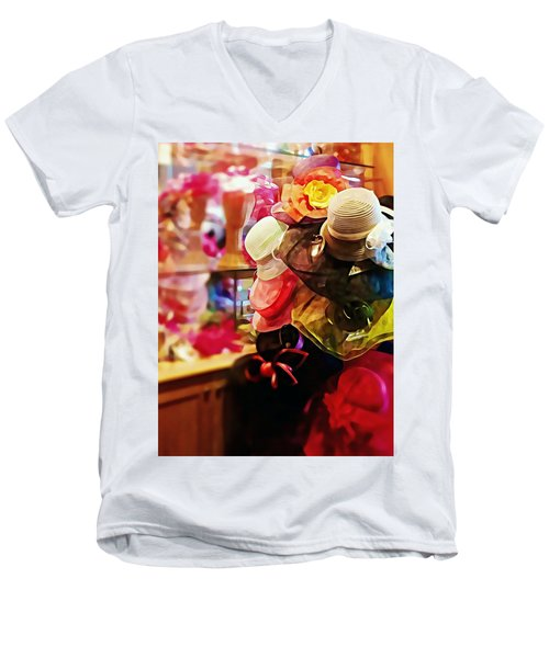 kentucky Derby Hats Men's V-Neck T-Shirt