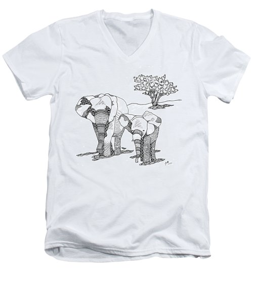 Kenyan Walk Men's V-Neck T-Shirt