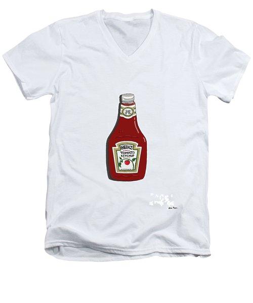 Ketchup Men's V-Neck T-Shirt