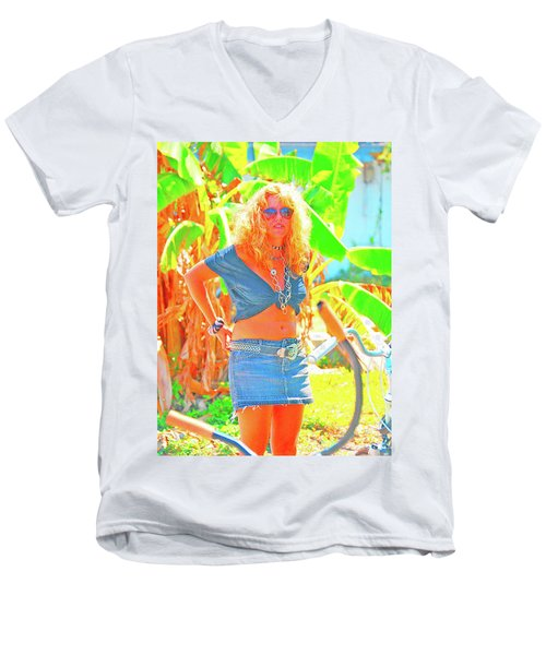 Key West Life Men's V-Neck T-Shirt