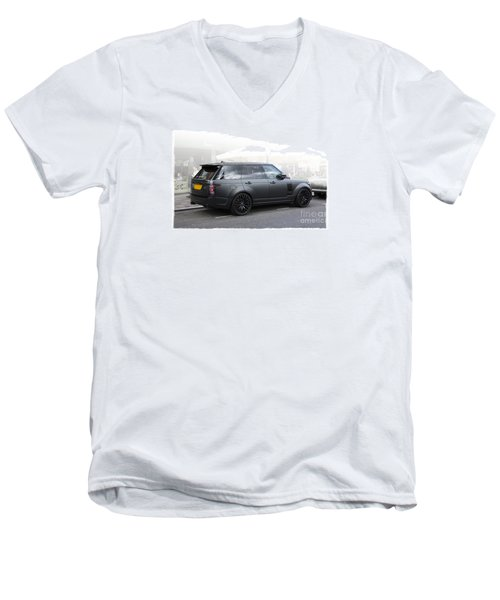 Khan Range Rover Men's V-Neck T-Shirt