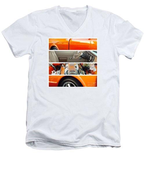 Killeen Texas Car Show - No.2 Men's V-Neck T-Shirt