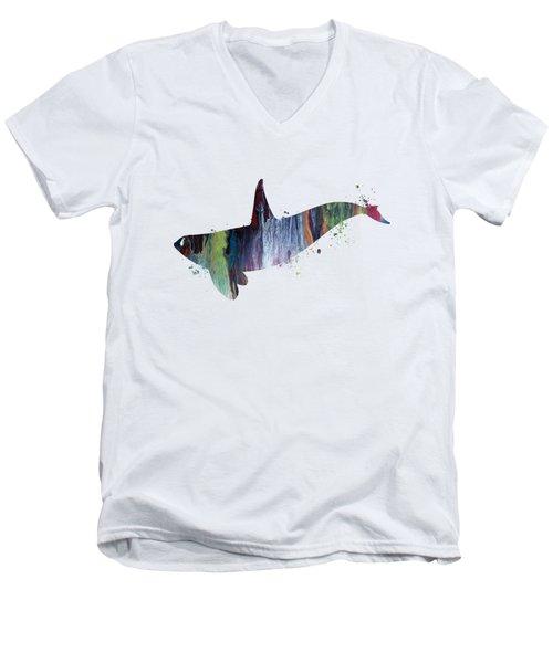 Killer Whale Men's V-Neck T-Shirt