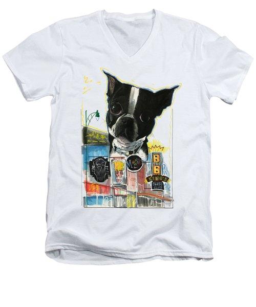 Kilner 3221 Men's V-Neck T-Shirt