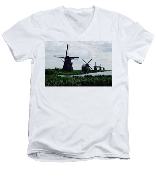 Kinderdijk Men's V-Neck T-Shirt
