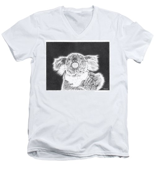 King Koala Men's V-Neck T-Shirt