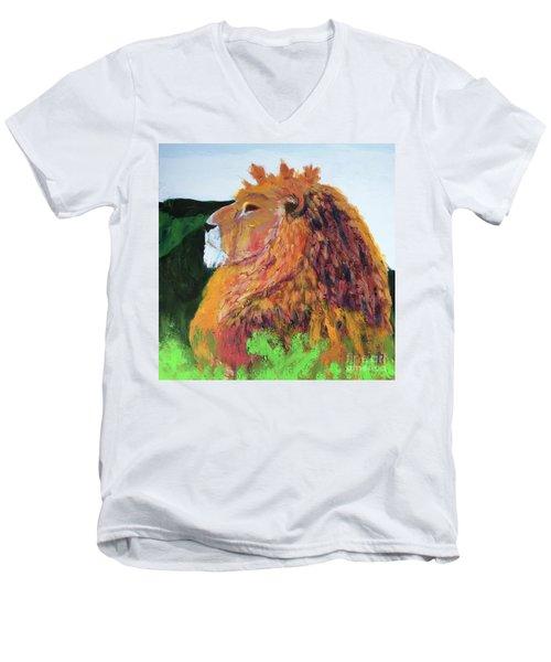 King Of Hearts Men's V-Neck T-Shirt