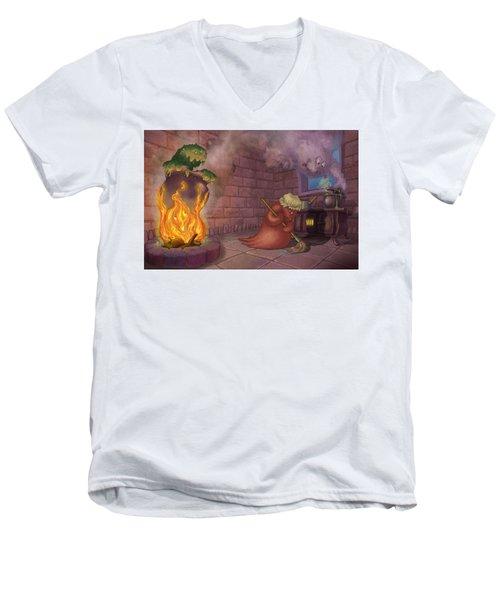 Kitchen Monsters Men's V-Neck T-Shirt