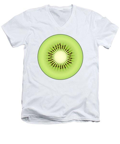 Kiwi Fruit Men's V-Neck T-Shirt