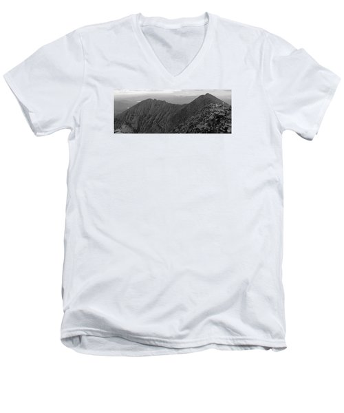 Knife Edge Men's V-Neck T-Shirt