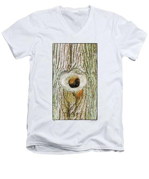 Knot Men's V-Neck T-Shirt by R Thomas Berner