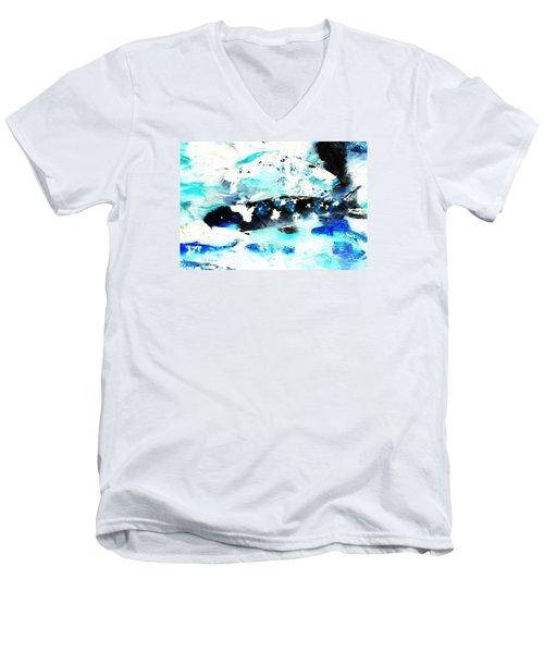 Koi Abstract 2 Men's V-Neck T-Shirt