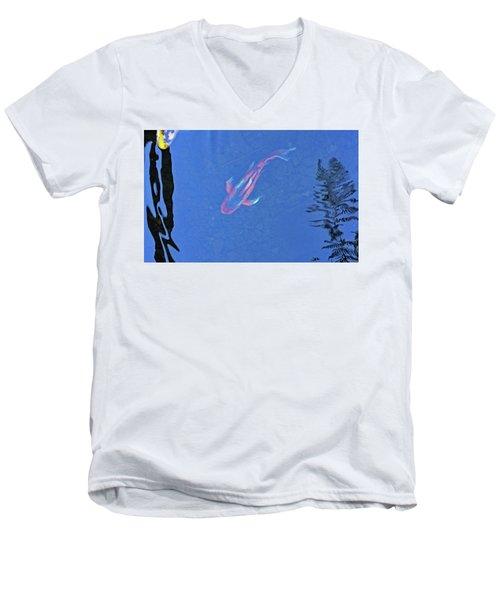 Koi No. 5-1 Men's V-Neck T-Shirt