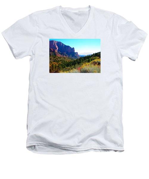 Kolob Canyon Men's V-Neck T-Shirt